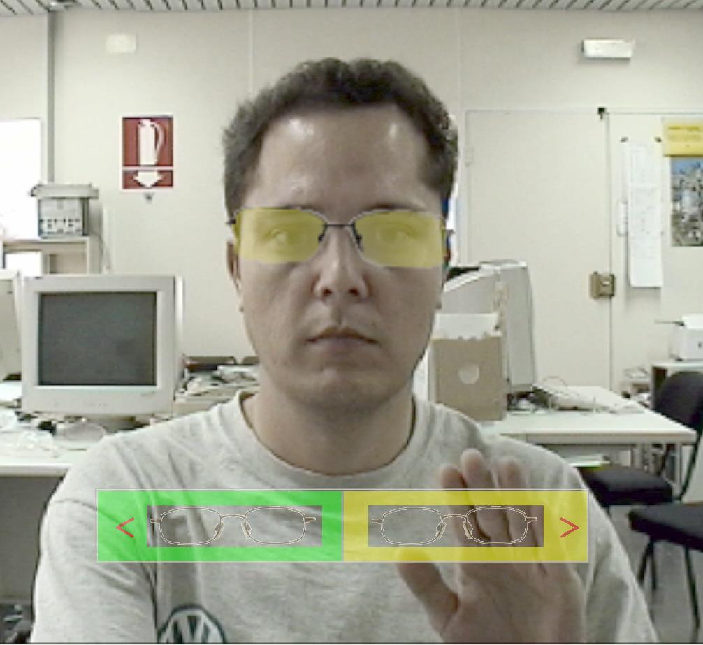 eyewear selector