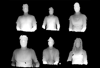 Face detector for Kinect depth images